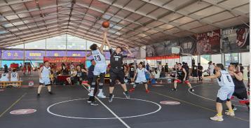 安徽交易集团篮球队参加2020市职工篮球比赛